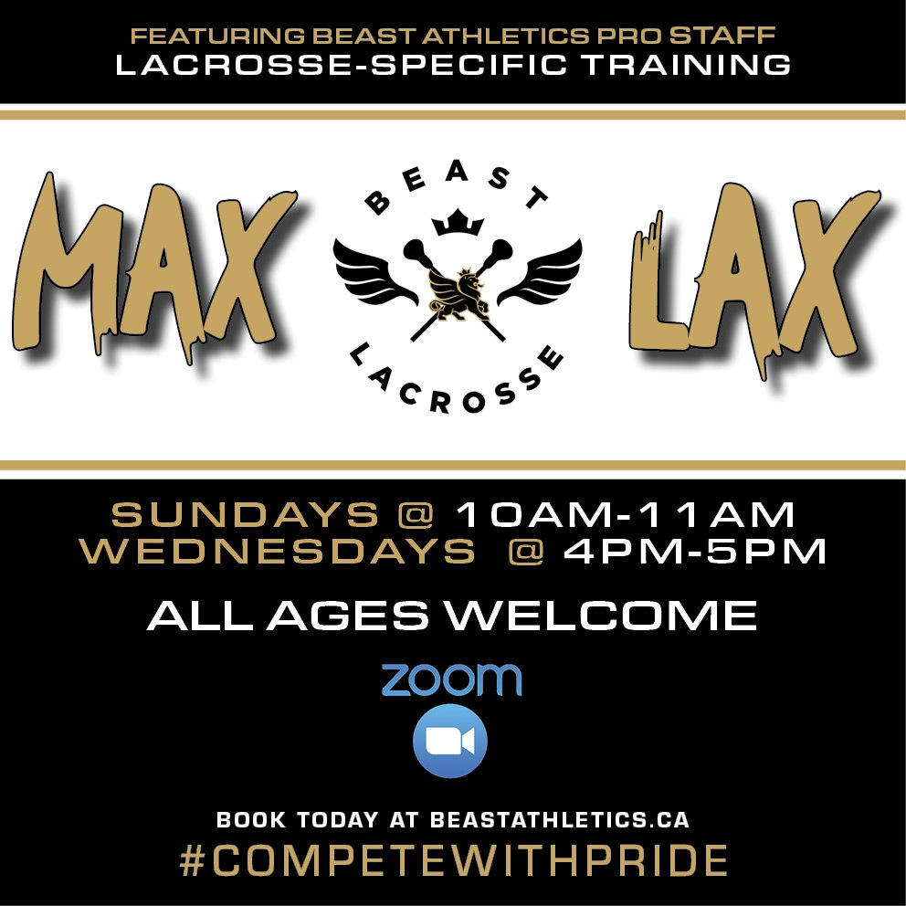 BEAST MAX LAX Lacrosse Training Sessions