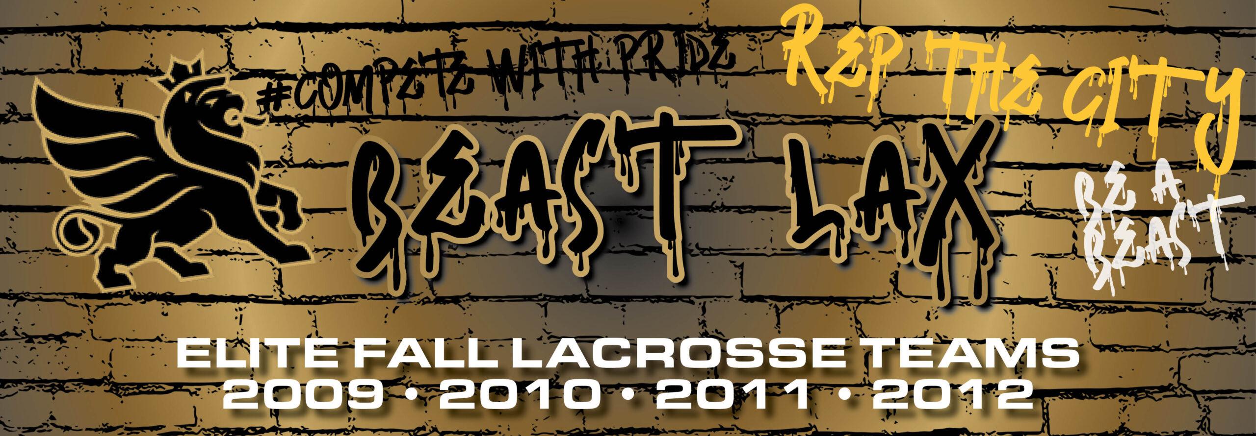 2020 BEAST Elite Lacrosse Fall Teams
