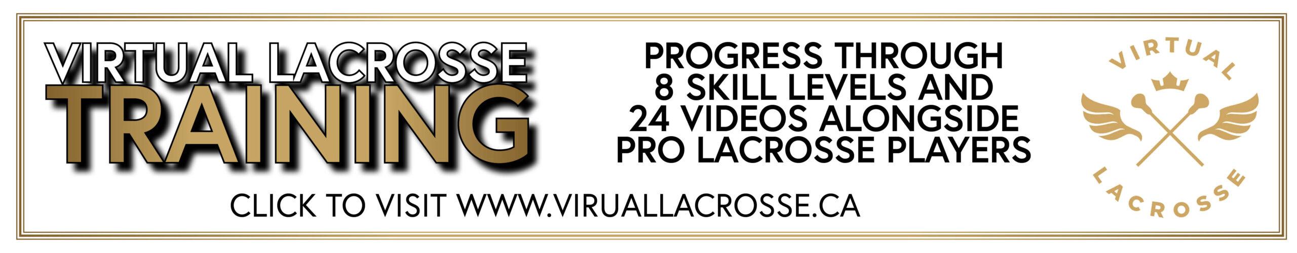 Virtual lacrosse ad